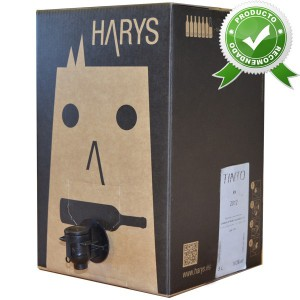 Bag in Box Harys Tinto 10L
