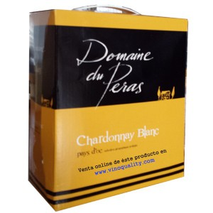 Bag in Box Domaine du Peras Chardonnay Blanc